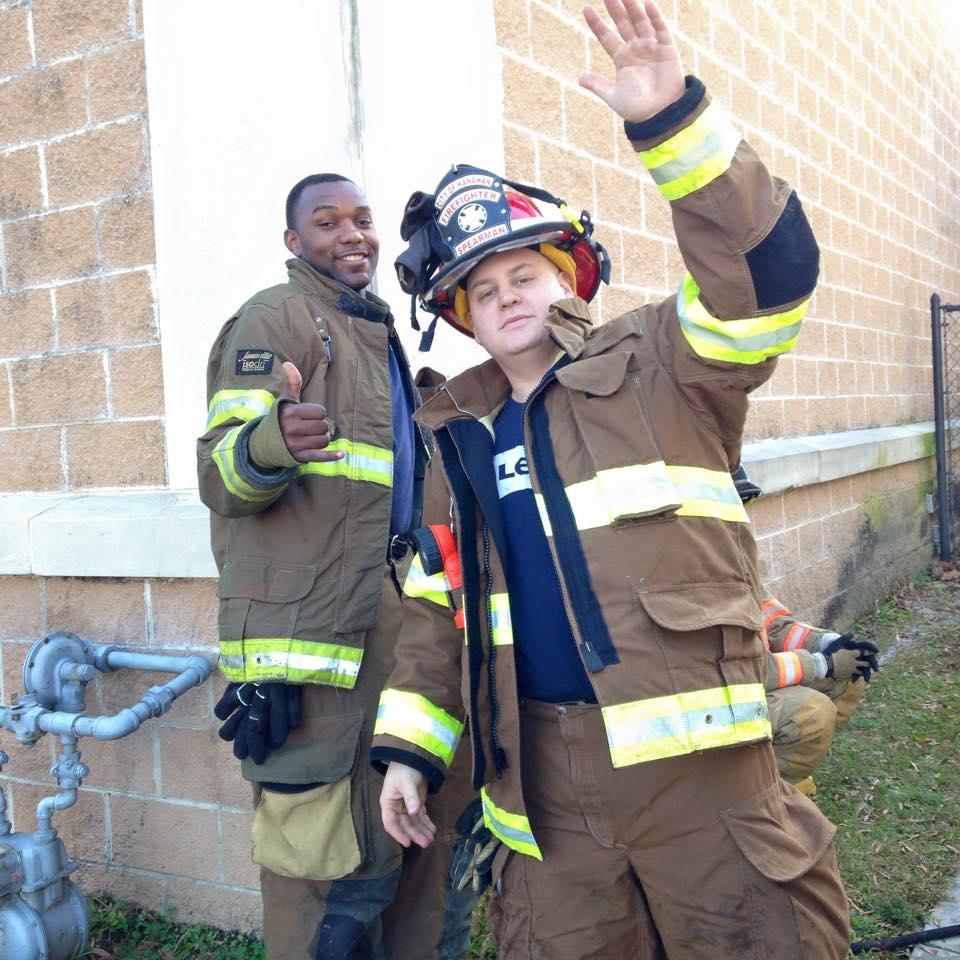 Fire Fighter - Brent Spearman